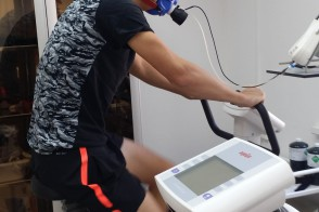 12.Gas analysis on the ergometer